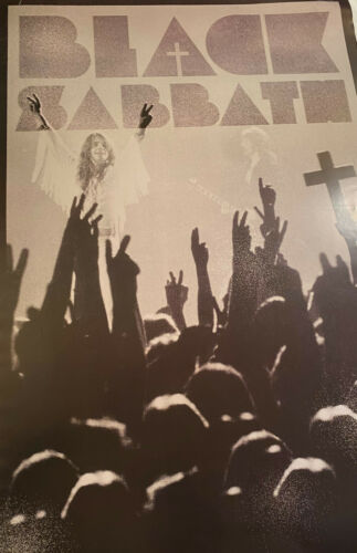 Black Sabbath Poster 24 X 36