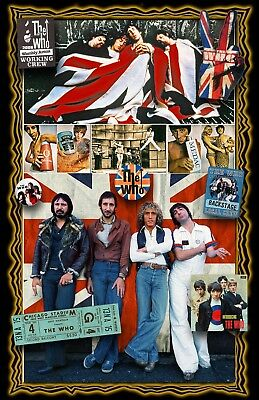The Who - 1/3 PRICE OFF- ONLY$10.00 THIS IS A LIMTED OFFER TO KICK OFF SUMMER!