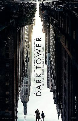 The Dark Tower Poster  A     11  X 17    Idris Elba  Matthew Mcconaughey