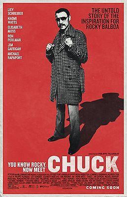 Chuck poster - 11 x 17 inches  - Liev Schreiber (2017) Boxing,Rocky, The Bleeder