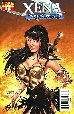 XENA WARRIOR PRINCESS #1 SIGNED BY ARTIST BILLY TAN
