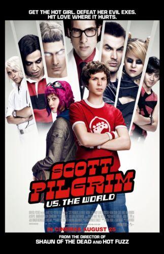 """Scott Pilgrim Vs The World movie poster (b) - 11"""" x 17"""" inches"""