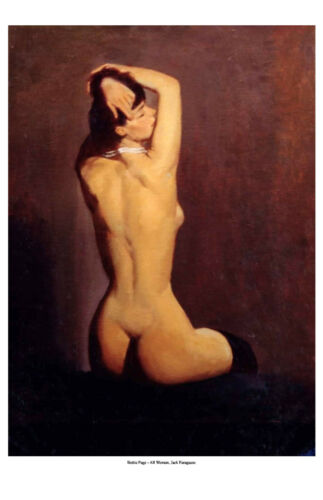 """Bettie Page"" Signed Limited Edition Fine Art Print by Jack Faragasso"