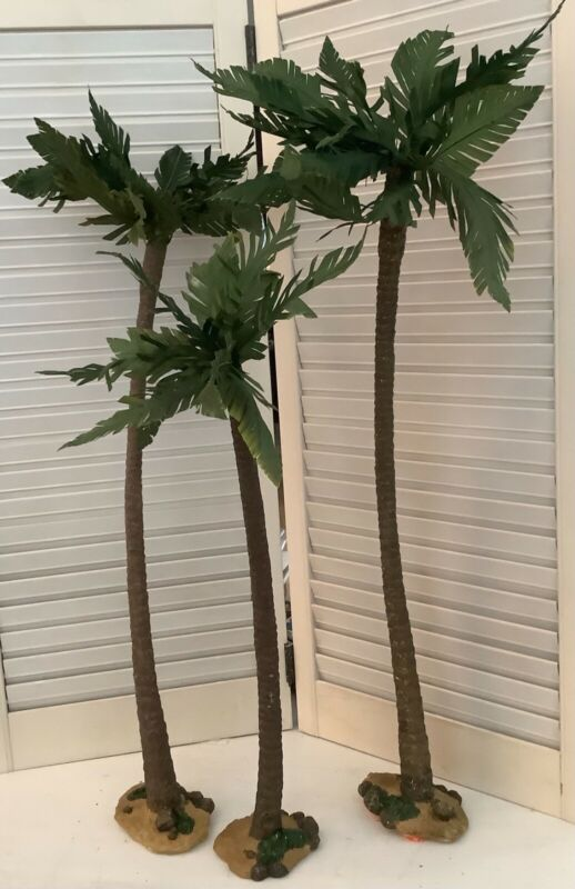 Set of Three 2005 Members Mark Nativity Replacement Trees, 2ft Tall