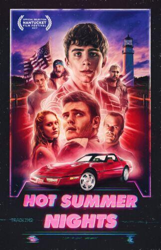 "Hot Summer Nights movie poster (b) 11"" x 17"" - Timothee Chalamet - (2018)"