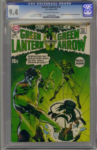 Green Lantern #76 (1970 DC) CGC 9.4