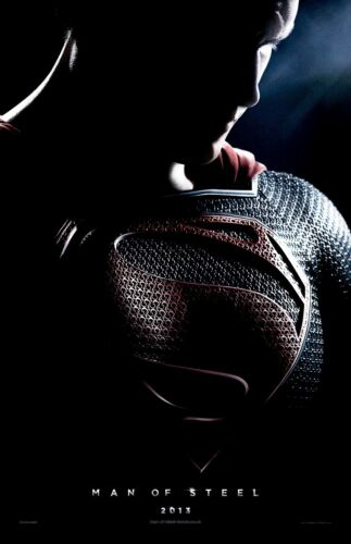 Man Of Steel movie poster print (c) : 11 x 17 inches : Henry Cavill