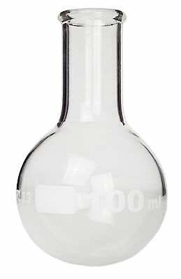 Round-bottom Boiling Flask Standard Neck 100ml Pack Of 12