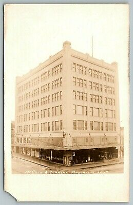 Muscatine Iowa~McColm & Company Dry Goods Department Store~1920s RPPC - Party Good Store