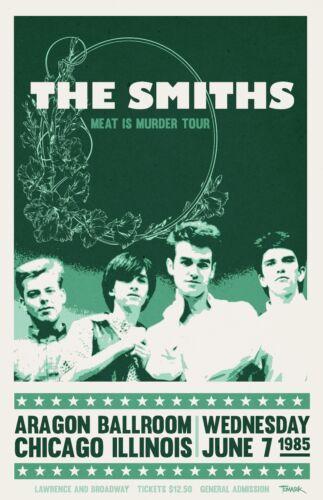 The Smiths 1985 Tour Poster