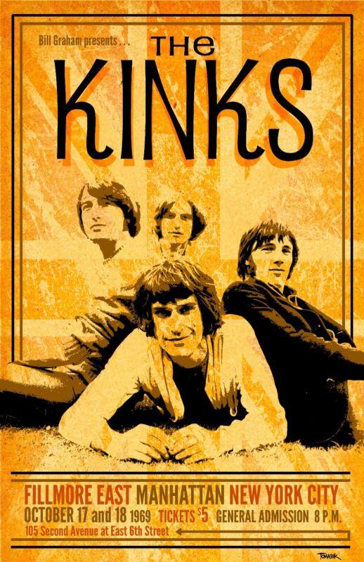 Kinks Tour Poster