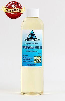 Meadowfoam Seed (MEADOWFOAM SEED OIL ORGANIC CARRIER EXPELLER PRESSED 100% PURE 8 OZ)