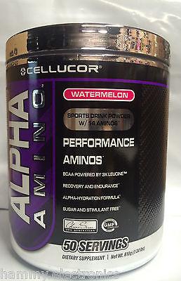 BLOWOUT SALE! Cellucor Alpha Amino Supplement Watermelon 50 Servings