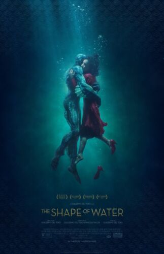 """The Shape Of Water movie poster (b)  - 11"""" x 17"""" - Guillermo Del Toro"""