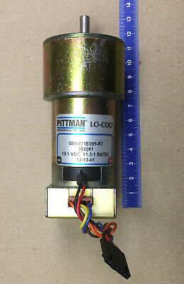 Motor Pittman Gm9233e099-r7 19.1 Vdc Gearhead 11.51 Ratio With Encoder
