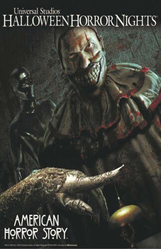 Halloween Horror Nights American Horror Story Poster Print 11x17 Twisty