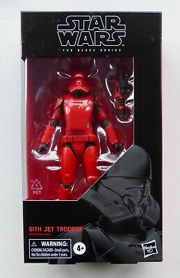 "STAR WARS NEW BLACK SERIES 6"" INCH NON MINT SITH JET TROOPER #106 MISB FIGURE BS"