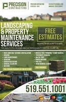 Landscaping/grading/sod/ weeding FREE ESTIMATES