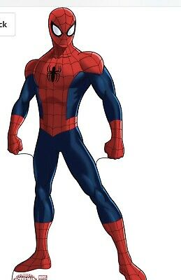 Marvel Ultimate Spider-Man 02 Lifesize Standup Cardboard Cutout NEW - Spiderman Cutout