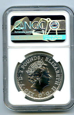 2020 GREAT BRITAIN 1OZ SILVER NGC MS70 BRITANNIA ORIENTAL BORDER FIRST RELEASES - $137.50