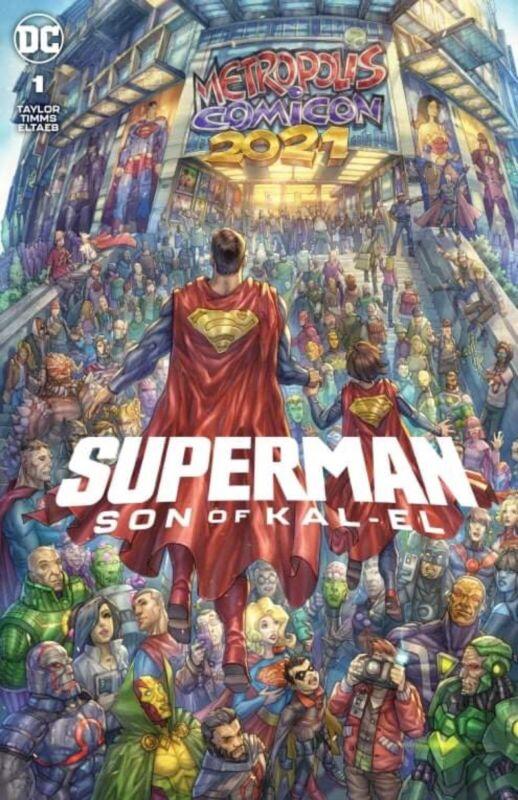 🚨💥 SUPERMAN SON OF KAL-EL #1 ALAN QUAH Exclusive Trade Dress Variant LTD 3000
