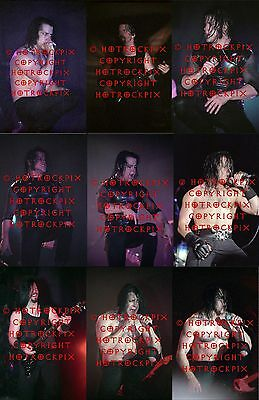 15 DIFFERENT 4X6 PHOTOS OF GLENN DANZIG IN CONCERT