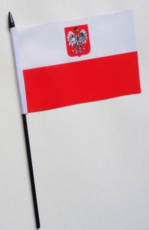Poland Eagle Small Hand Waving Flag