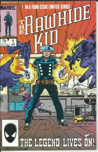 FOUR ISSUE LIMITED SERIES: THE RAWHIDE KID (1985) NEAR MINT CONDITION!