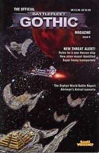 The Official Battlefleet Gothic Magazine Issue #6 VG+ Games Workshop GW