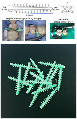 40pcs Dental Adpative Wedges Matrix 134 Carpenterworm Diastema Wedge Fender