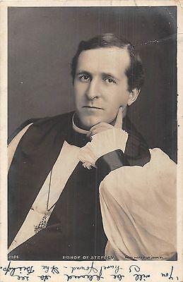 POSTCARD  RELIGION    Bishop  of  Stepney