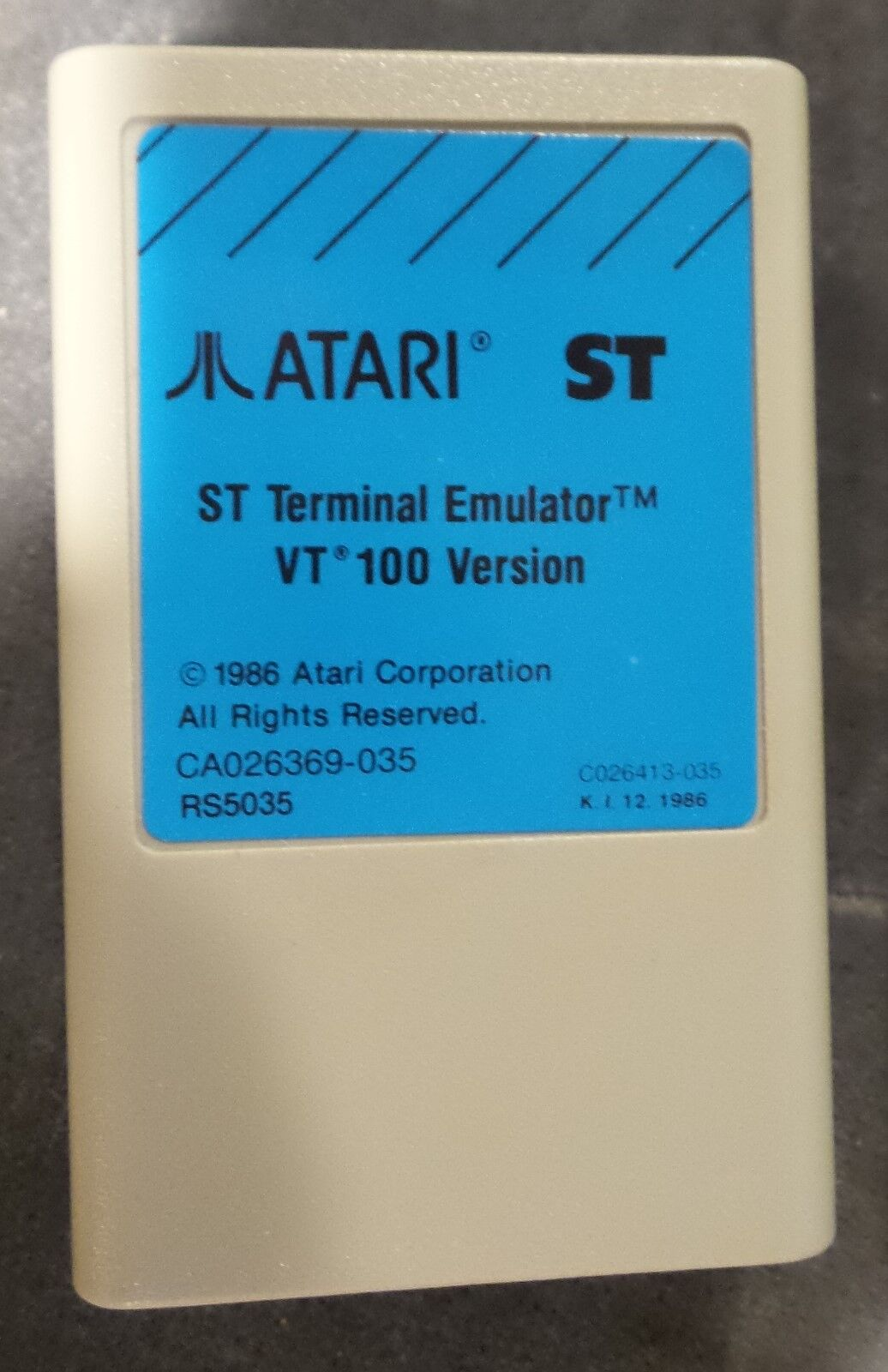 ATARI Rare OEM Cartridge Atari 520 1040 ST//STE Mega TT and Falcon 2 New PCB ONLY
