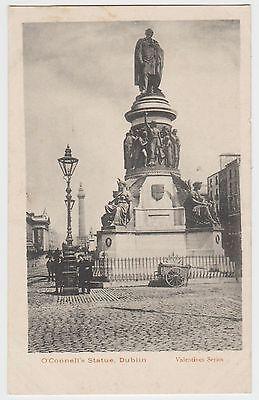 O'Connell's Statue, Dublin in ~1903 (Est) Fine Matt Collotype PPC, GVG Unused.