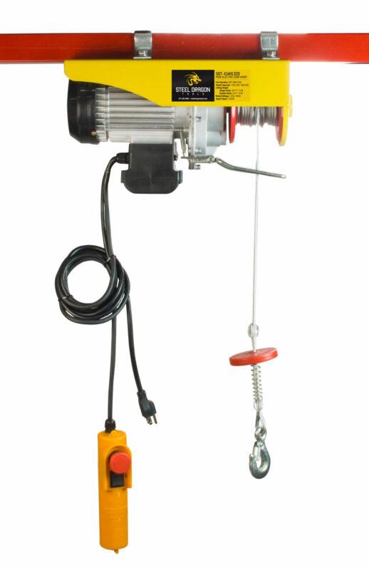 Steel Dragon Tools® 1320 LBS Mini Electric Wire Cable Hoist Overhead Crane Lift