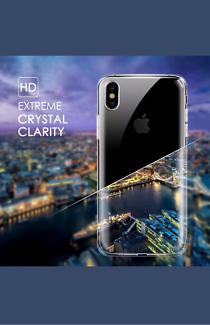 Iphone x ultra thin clear case