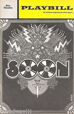"""Peter Allen """"SOON"""" Richard Gere / Nell Carter / Rock Opera 1971 FLOP Playbill"""