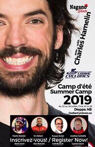 Camp d'été 2019 en Patin de Vitesse Courte Piste avec Hamelin