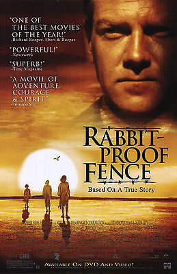 RABBIT PROOF FENCE (2002) ORIGINAL DVD MOVIE POSTER  -  ROLLED for sale  Shipping to Canada