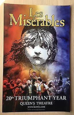 WestEnd Promo Poster Les Miserables *rare*