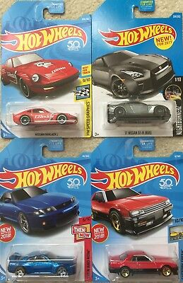 Hot Wheels Toy Car - Nissan Fairlady / Skyline (4 Cars to Choose)