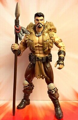 Marvel Legends Spider-Man KRAVEN THE HUNTER Figure  *Rhino BAF*