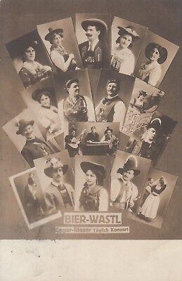 Postkarte - Bier-Wastl / Egger-Rieser aus Tirol