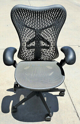 Herman Miller Mirra 1 Triflex Back Office Task Chair Graphite Grey