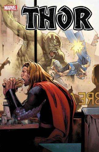 Thor #8 Main Cover Marvel Comics Presale 10/07/2020