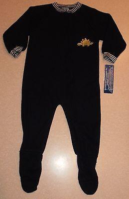 Carter's Navy Blue Dinosaur Blanket Sleeper Footed Pajamas 3T 4T ~ (Blue Blanket Sleeper Footed Pajamas)