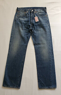 NWT LEVIS VINTAGE CLOTHING 501XX-1955 BIG E SELVEDGE DENIM MENS JEANS SZ 32X32
