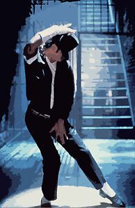 Michael Jackson Music Star Fabric poster 20