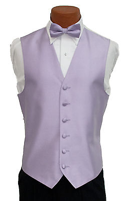 Medium Boys After Six Aries Lilac Openback Prom Wedding Tuxedo Vest & Tie After Six Aries Vest