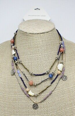 Bohemian Multi Strand Necklace by Christopher & Banks $28.95 Tags #CB3 Bohemian Multi Strand Necklace