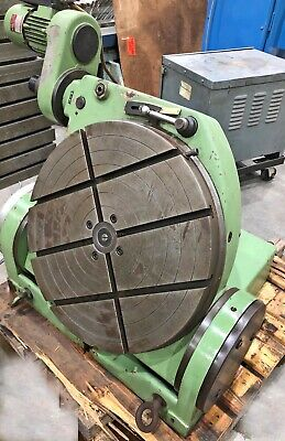 Walter Model Rts 630-mp 24 Motorized Tilting Rotary Table